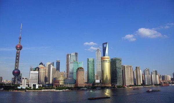 levné letenky Šanghaj Čína