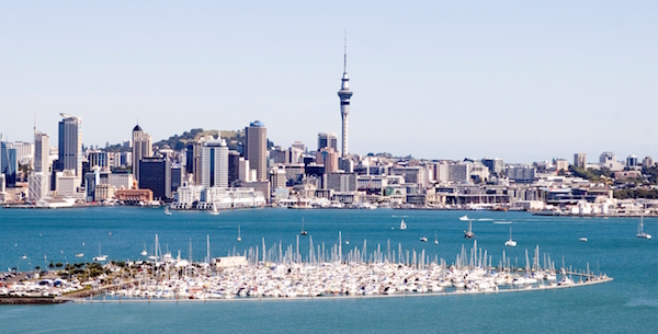 levné letenky Nový Zéland Auckland