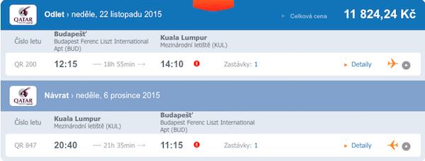 letenky Kuala Lumpur
