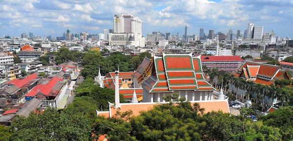 levné letenky Bangkok