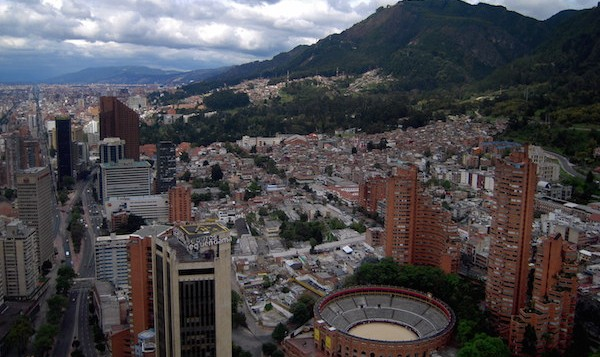 levné letenky Bogota Kolumbie