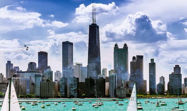 levné letenky Chicago
