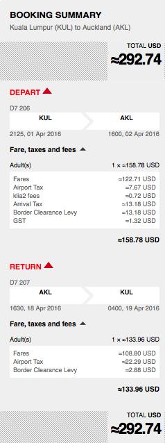 levné letenky Auckland