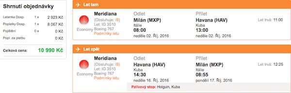 levné letenky Havana, Kuba