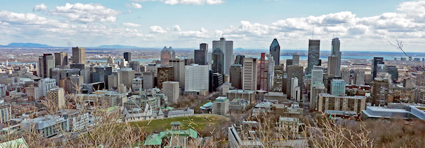 levné letenky Montreal Kanada