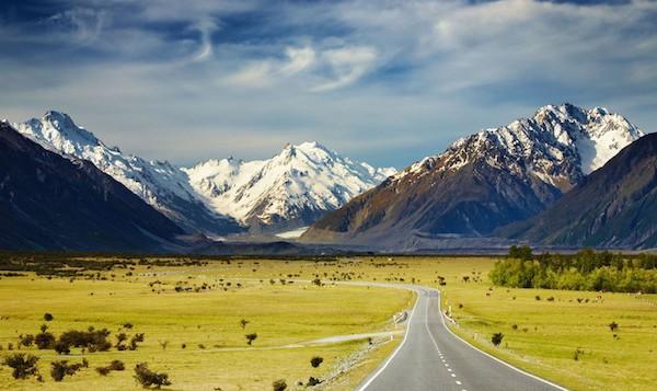levné letenky Nový zéland