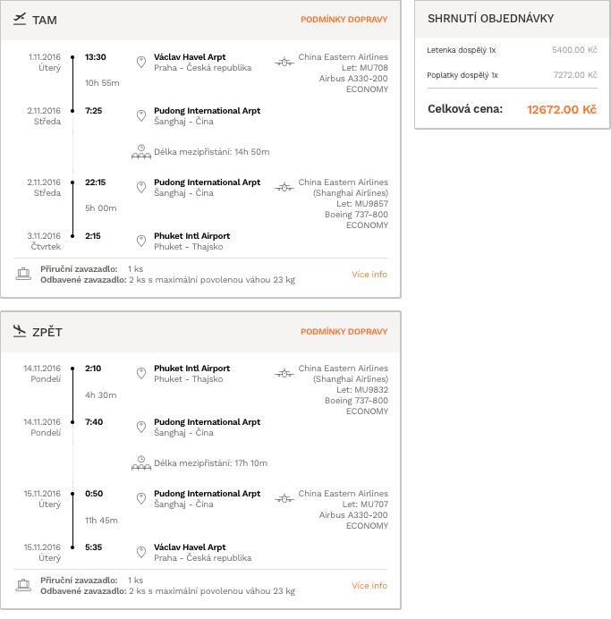 levné letenky Phuket