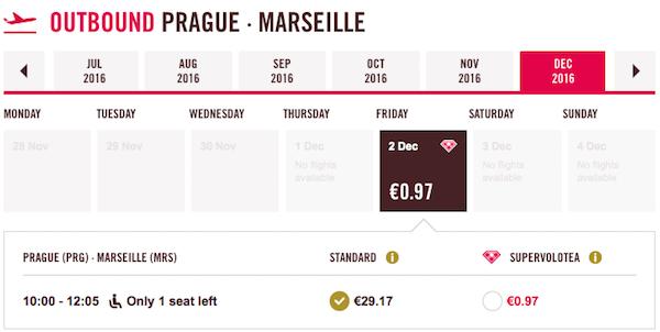 levné letenky Marseille