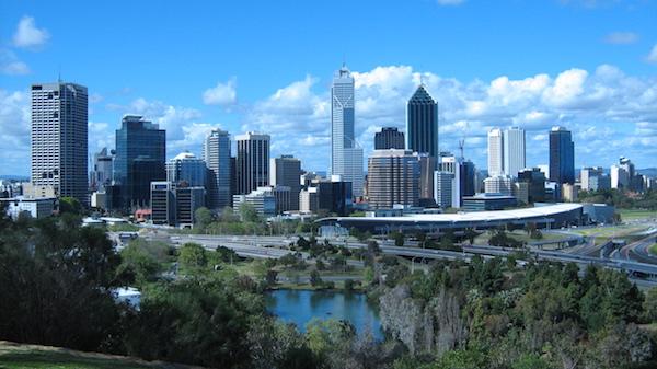 levné letenky Perth Austrálie