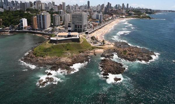 levné letenky Salvador, Brazílie
