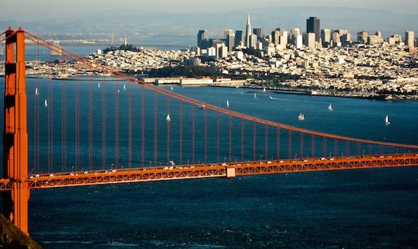 levné letenky do San Francisca