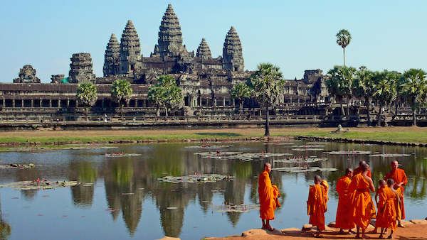 levné letenky Kambodža