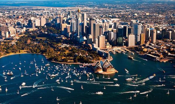 levné letenky Sydney