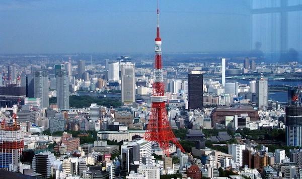 levné letenky Tokio