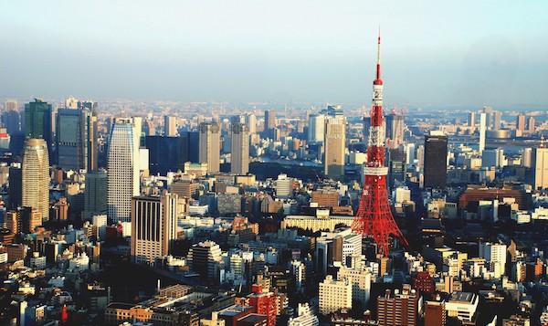 levné letenky Tokio Japonsko