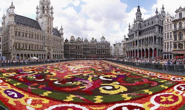 levné letenky Brusel